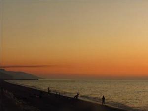 Cide Sahili Gün batımı - Yalı Otel